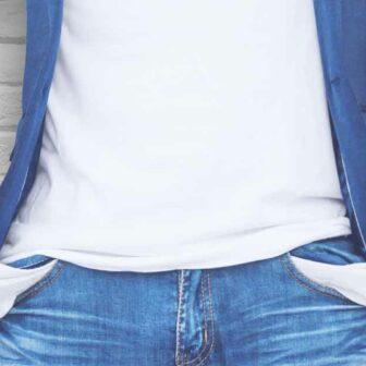homme poches pantalon vides