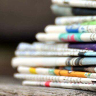 journaux représentatifs du communiqué de presse