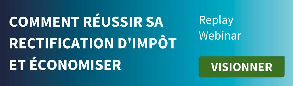 Bouton visionner replay webinar impots