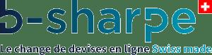 b-sharpe_Brand_Logo_Tagline_Blue_FR