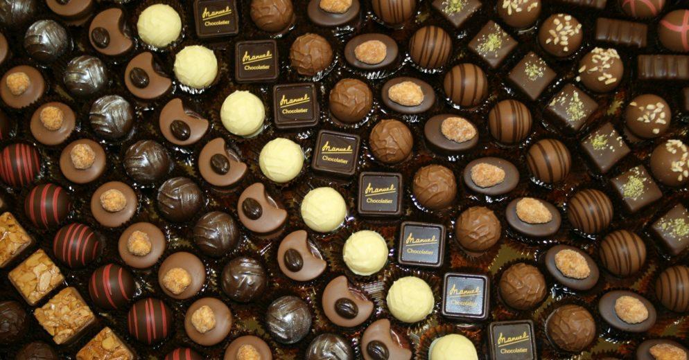 chocolats Manuel Balexert Genève
